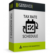 Scheduled Tax Rate Mass Updates for Magento 2