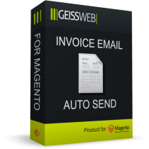 Invoice Email Auto Send for Magento